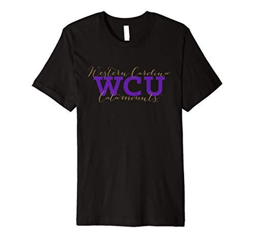 Western Carolina Catamounts WCU NCAA T-Shirt WCAU01