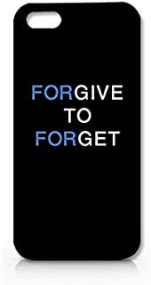 Forgive to Forget Phone Case for Iphone 5 Hard Plastic Cover Hot Trend Design Pattern- Craftdesign