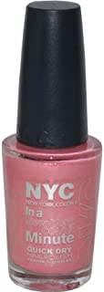 New York Color In A New York Color Minute Quick Dry Nail Polish, Wall Street, 0.33 Fluid Ounce