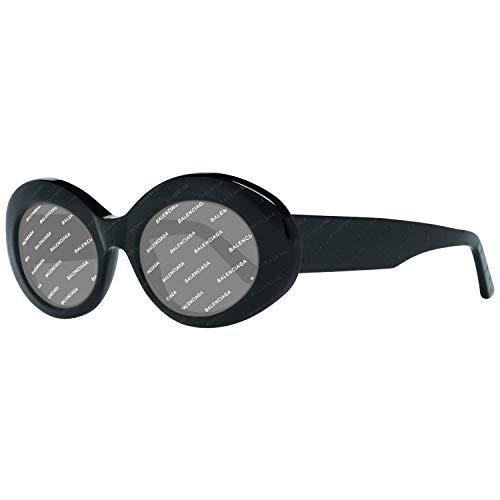 Balenciaga BA0145 05A-51-21-140 Balenciaga Sunglasses Ba0145 05A-51-21-140 ovale zonnebril 51, zwart