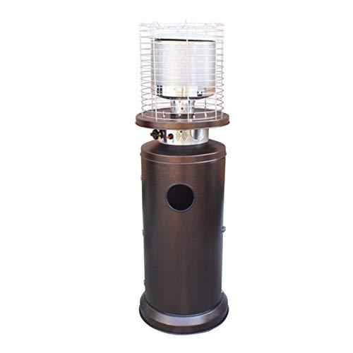 dmedc Acero Inoxidable en Suelo propano líquido Calentador de Patio Multifuncional propano Calentador al Aire Libre, Caldera