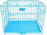Hanu Enterprises Heavy Duty Crate Strong Metal Big and Adult Large Dog Cage, 36 Inch