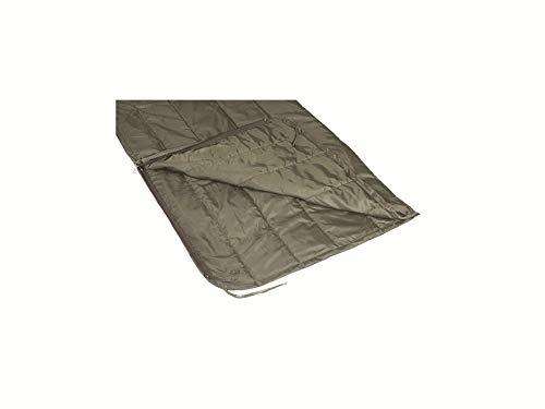 5ive Star Poncho Einlage / Woobie / Survival Camping Decke mit Reißverschluss, RANGER GREEN, XL- Long