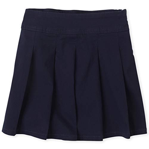 The Children's Place Big Girls' Uniform Skort, Tidal 3300, 6X/7