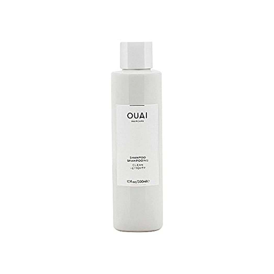 矩形委任するケープクリーンシャンプー300ミリリットル x2 - Ouai Clean Shampoo 300ml (Pack of 2) [並行輸入品]
