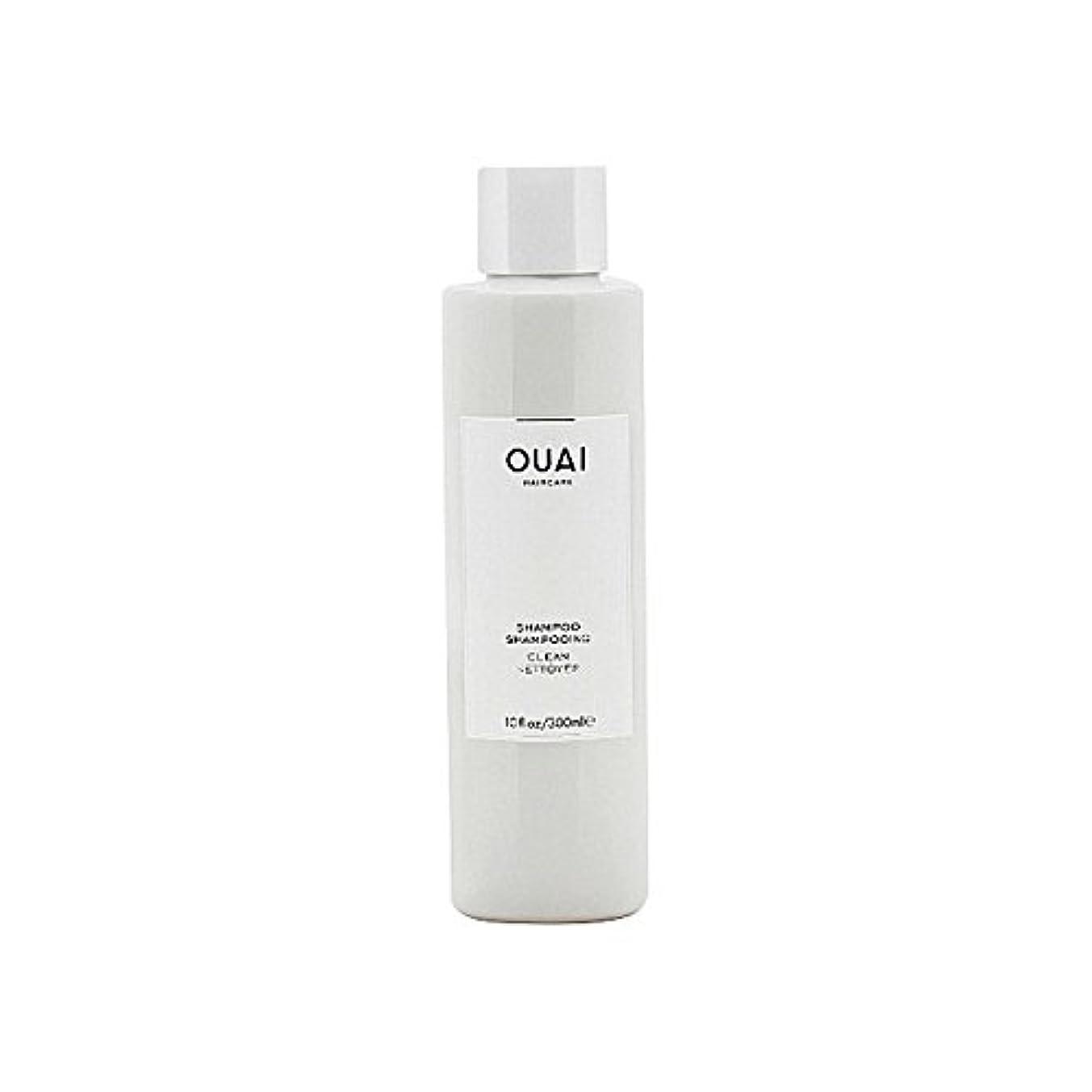 部分ブランク解釈的クリーンシャンプー300ミリリットル x4 - Ouai Clean Shampoo 300ml (Pack of 4) [並行輸入品]