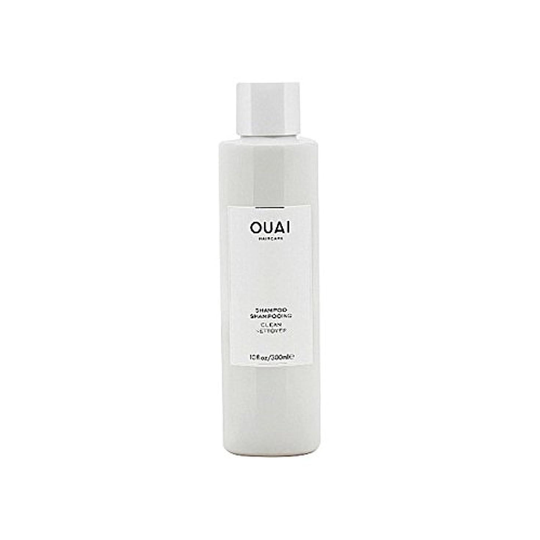 幸福猫背花瓶クリーンシャンプー300ミリリットル x4 - Ouai Clean Shampoo 300ml (Pack of 4) [並行輸入品]