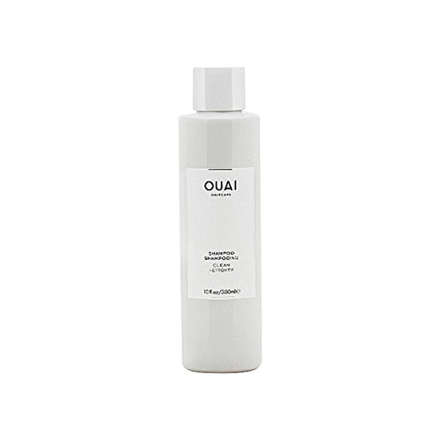 報復するパラナ川ガムクリーンシャンプー300ミリリットル x4 - Ouai Clean Shampoo 300ml (Pack of 4) [並行輸入品]