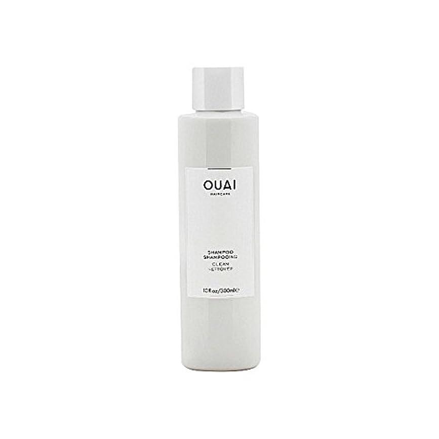 盆地鯨ブラウザクリーンシャンプー300ミリリットル x4 - Ouai Clean Shampoo 300ml (Pack of 4) [並行輸入品]