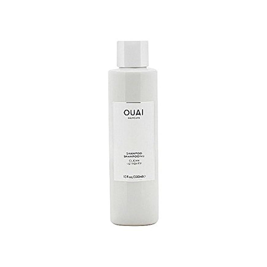 動物継続中スポットクリーンシャンプー300ミリリットル x4 - Ouai Clean Shampoo 300ml (Pack of 4) [並行輸入品]