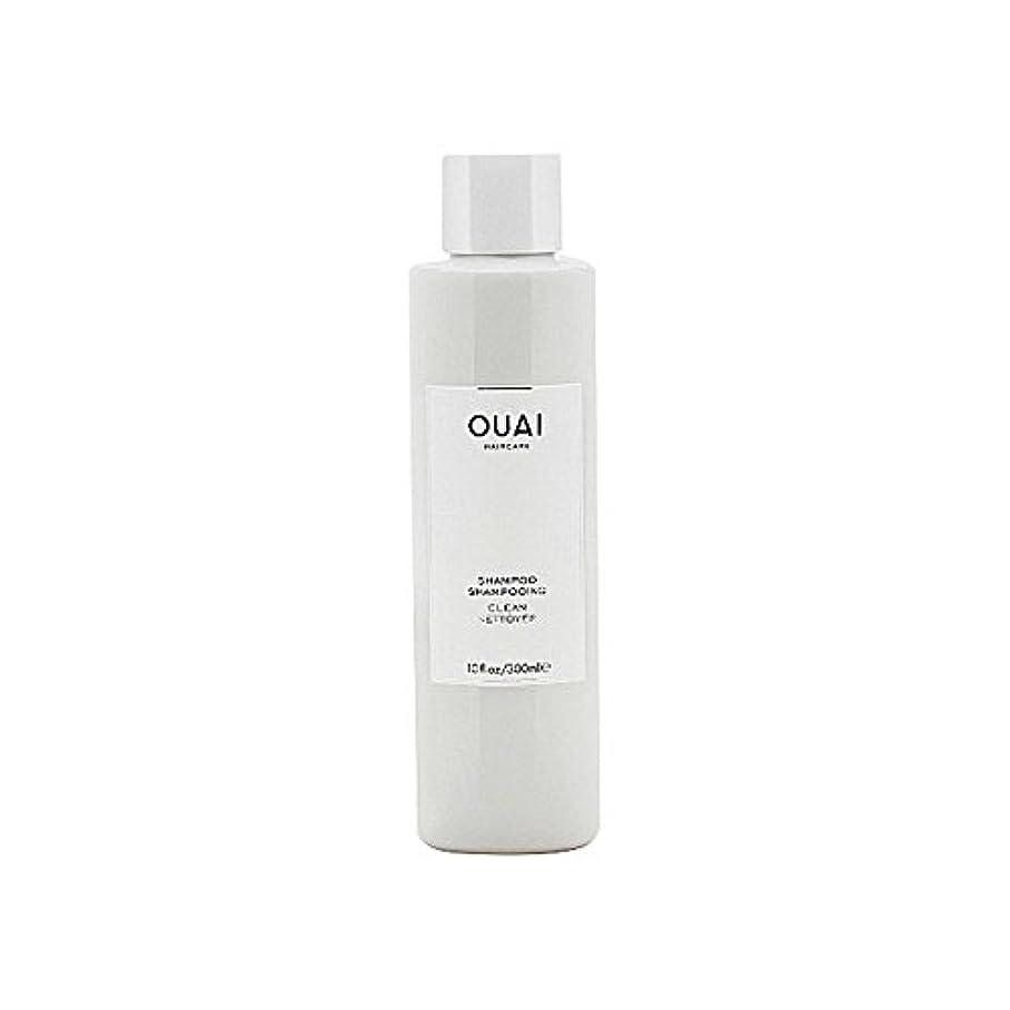 ミサイル奴隷発表クリーンシャンプー300ミリリットル x2 - Ouai Clean Shampoo 300ml (Pack of 2) [並行輸入品]