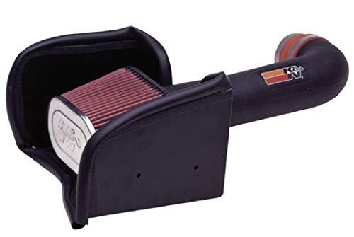 K&N Cold Air Intake Kit: High Performance, Guaranteed to Increase Horsepower: 50-State Legal: 2000-2004 DODGE (Dakota, Durango)57-1516