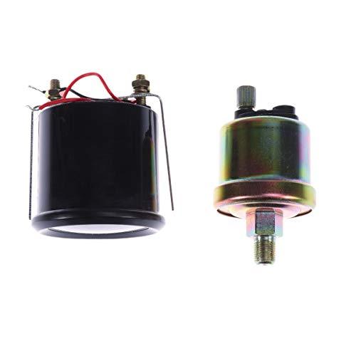 IENPAJNEPQN Ölpresse-Lehre Universal-12V 52mm Digitale Modifizierte Ölpresse Spur Kraftstoff Tester Kraftstoffanzeigen Auto-Messinstrument for Auto-Auto-Träger A30