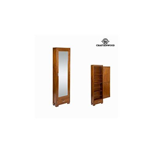 Zapatero con puerta de espejo - Colección Serious Line by Craften Wood