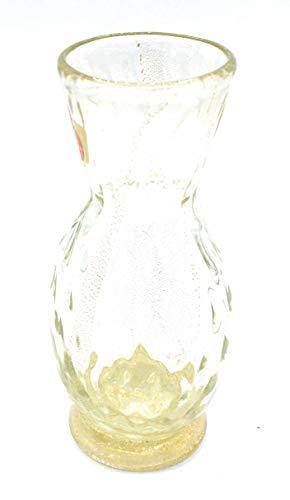 Murano Collection vaas, bladgoud, Muranoglas, gemaakt in Italië