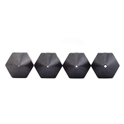 4 boquillas de acero endurecido para Makerbot de 1,75 mm, Creality CR-10 All Metal Hotend, Ender 3/Ender3 Pro, CraftBot, Prusa i3 3D Printer