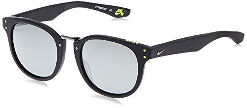 NIKE Gafas de Sol, MtBlk/VltGryLnsW/S, 52 para Mujer