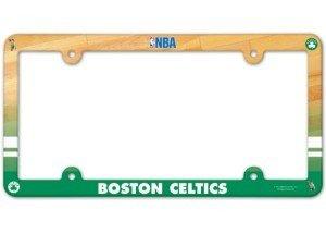 Boston Celtics NBA Set of (2) License Plate Frames - Full Color