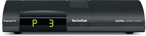TechniSat 0000/9530 DIGIPAL Smart Home Zentraleinheit / DVB-T2 Receiver, Zentraleinheit für TechniSat-Smart Home, Irdeto, PVR Ready USB, Anthrazit