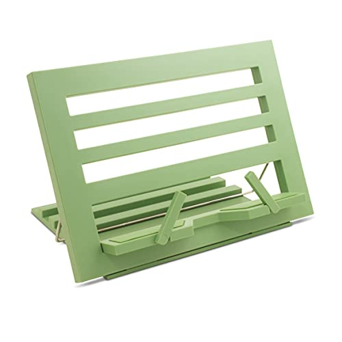 IF The Brilliant Sage Green Rest, Recipe Book Holder, Tablet Stand, Hands Free Reading, us:one Size