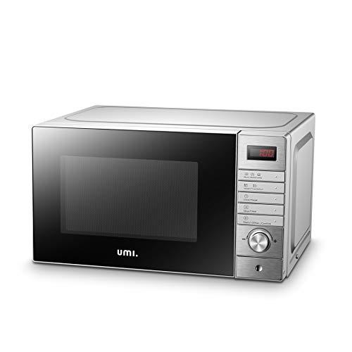 UMI Horno Microondas con grill de acero inoxidable 20L, XD-A...