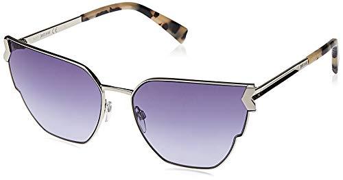 Just Cavalli JC824S-16Y Gafas de sol, Shiny Silver/Violet, 60 para Mujer