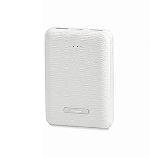SACYSAC Powerbank 10000 mAh grote capaciteit draagbare oplader met twee USB-uitgangen 2A snel opladen voor verschillende smartphones en tablets