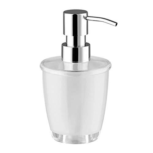Dispensadores de Jabón Ligero y compacto reutilizable champú y acondicionador dispensador, dispensador de jabón vacía, la bomba, for Baño Loción, Gel de ducha, 280ML (9,5 oz) Dispensadores de Loción