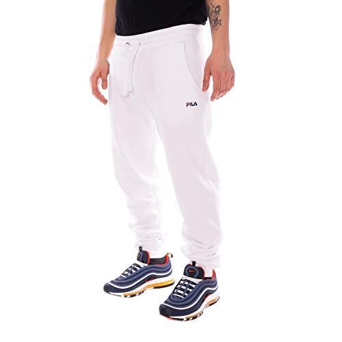 Fila - Pantaloni da uomo bianco M