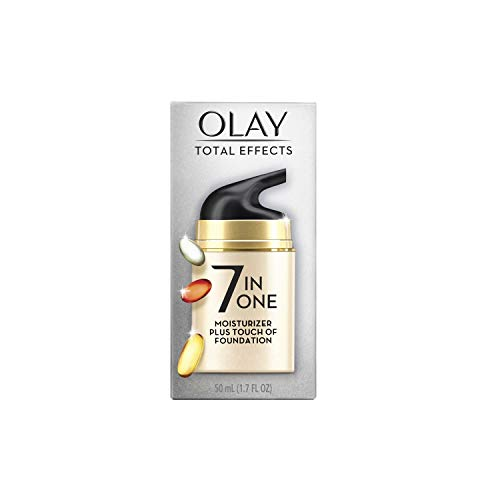 Olay Total Effects Face Moisturizer + Touch of Foundation, 1.7 fl oz