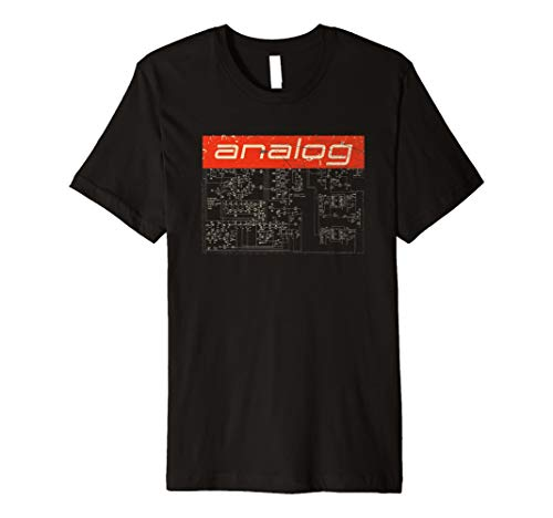 Vintage Synthesizer Analog - Synth Schaltplan T-Shirt