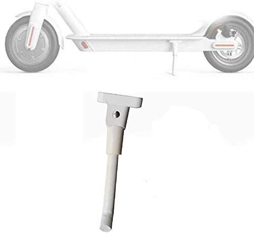 Soporte para Pies de Scooter para Xiaomi M365 Scooter Eléctrico Accesorios de Estacionamiento para Minipatinetes (Blanco)