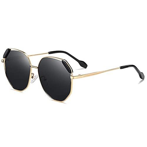 AMFG Gafas de sol polarizadas Retro Gafas de sol Señoras Ciclismo al aire libre Conducción Conducción Gafas de sol (Color : D)