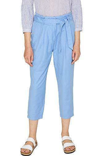 edc by ESPRIT Damen 059Cc1B014 Hose, 430/BLUE, W34(Herstellergröße: 34/24)