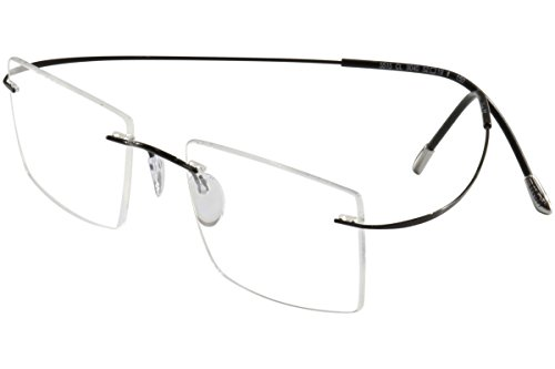 Silhouette Eyeglasses TMA Must Collection Chassis 5515 9040 Optical Frame 19x150