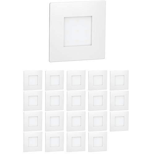 ledscom.de La luz LED de la escalera FEX Luz de pared empotrada,...