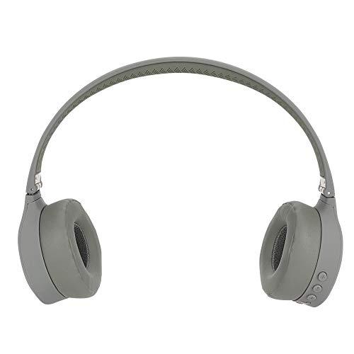 Draadloze Bluetooth-headset voor over het oor, draadloze Bluetooth-headset met 360 ° surround stereo CSR, opvouwbare draadloze hoofdtelefoon