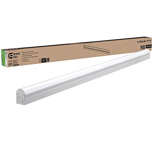Commercial Electric 4 ft. White LED Linkable Strip Light