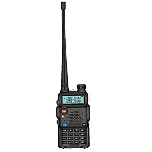 FeelMeet Walkie Talkie para Adultos Baofeng UV-5R Radio de Dos vías Receptor Handheld para Acampar al Aire Libre Campo de Supervivencia
