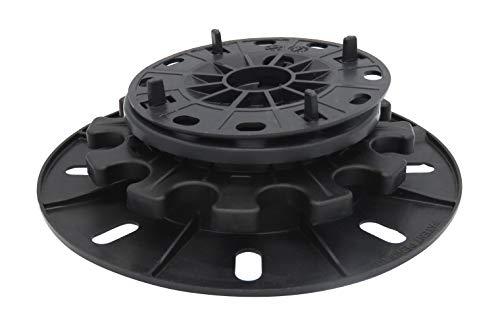 StrataRise Self-Levelling Paver & Floor Tile Support Pedestal with 4mm Spacer - 15 Pack