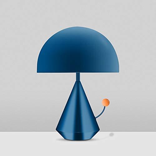 ChangHua1 Iluminación De Personalidad LED Lámpara De Mesa De Seta Creativa/Sala De Estar/Dormitorio/Mesita De Noche Decoración De Escritorio For Habitación De Niños Lámpara De Mesa