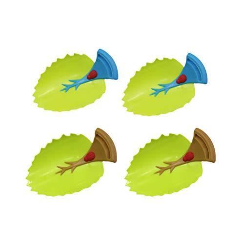 4 stücke Blatt Design Wasserhahn Extender Kinder Kinder Handwäsche Leitungswasser Leitfaden Werkzeug Bad-accessoires