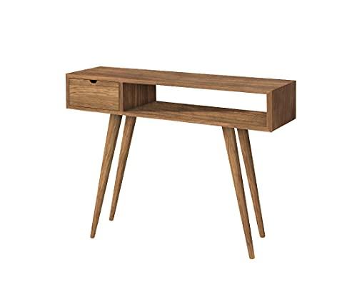 HOGAR24 ES Kronos 100- Mueble Recibidor-Entrada, Diseño Industrial-Vi