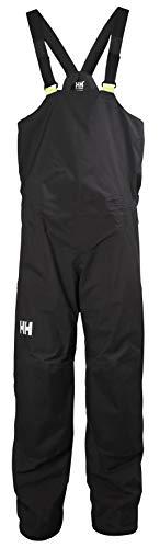 Helly-Hansen Unisex HP Waterproof Breathable Pull On Sailing Bib Pant, Ebony, Medium