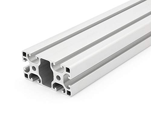 Perfil de aluminio 40x 80L I de tipo Nut 8–Standard longitudes (26Eur/M)