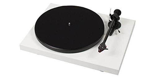 Project Debut Carbon 2M Red Blanco Lacado Platino Vinilo
