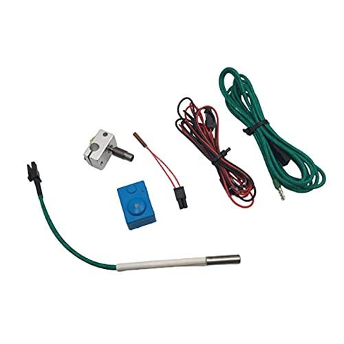 piaopiao 1set V6 Hotend Repair Upgrade Kit Fit For 24V Prusa I3 Mk3 3d Printer Titanium Heater Break SEMITEC Thermistor