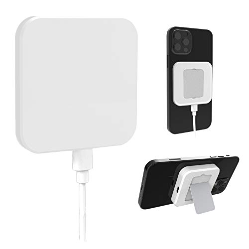 Hoidokly Caricatore Wireless Magnetico per Mag-Safe da 15W Adsorbimento Ricarica Wireless Allinea Automaticamente la Caricabatterie Supporto per iPhone 12 PRO Max/iPhone 12 PRO/iPhone 12 - Bianco