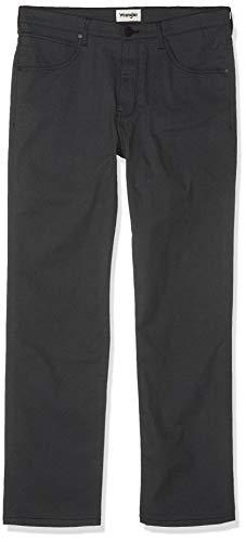 Wrangler Herren Arizona Straight Jeans, Schwarz (Black), 36W/34L