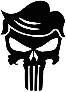Makarios LLC Trump Skelett, lustiger MKR Aufkleber, Vinyl Aufkleber, Auto, LKW, Vans, Wände, Laptop, 14 x 10,2 cm, Schwarz